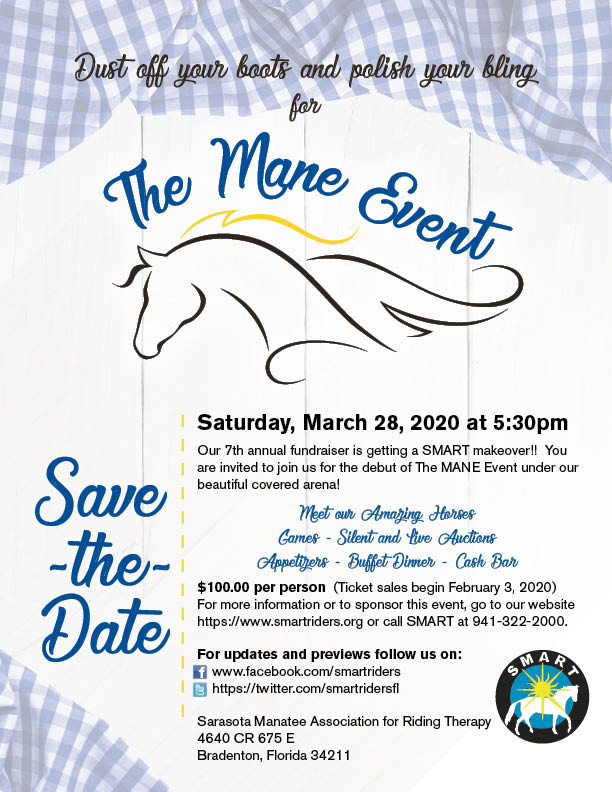 The MANE Event - Save The Date